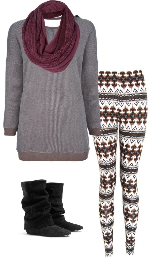 20 best How to wear fair isle leggings images on Pinterest ...
