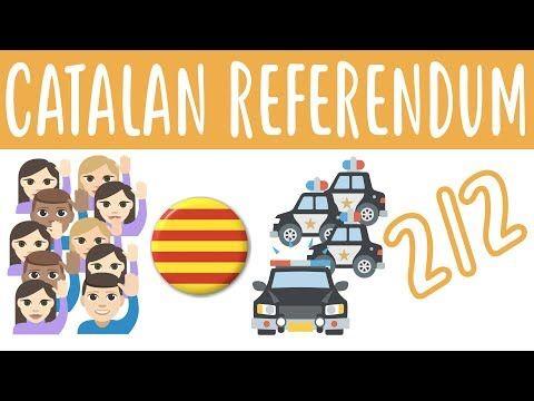(12) The Catalan Independence Referendum 2/2 - Beginner Spanish - Society #8 - YouTube