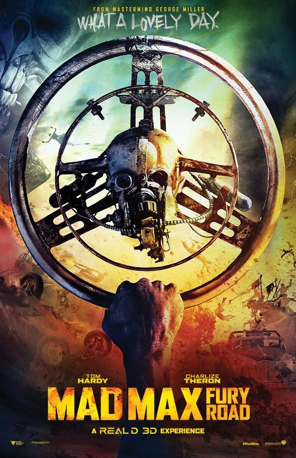 Mad Max: Fury Road, poster. http://www.buzzsprout.com/44722/274941-my-10-year-old-reviews-mad-max-fury-road-tons-of-spoilers