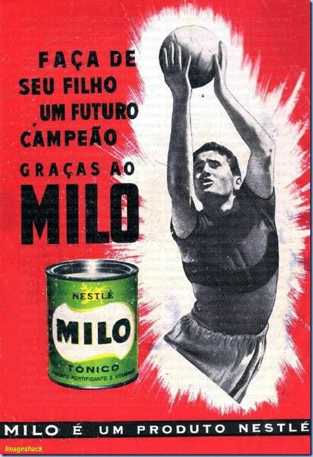"JoanMira - VI - Oldies: Pictures - Advertising boards - ""Milo da Nestlé"""