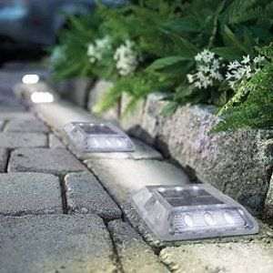 A really cool thing about solar driveway lights is that, even though they are meant to be used for driveways, they have other uses as well.