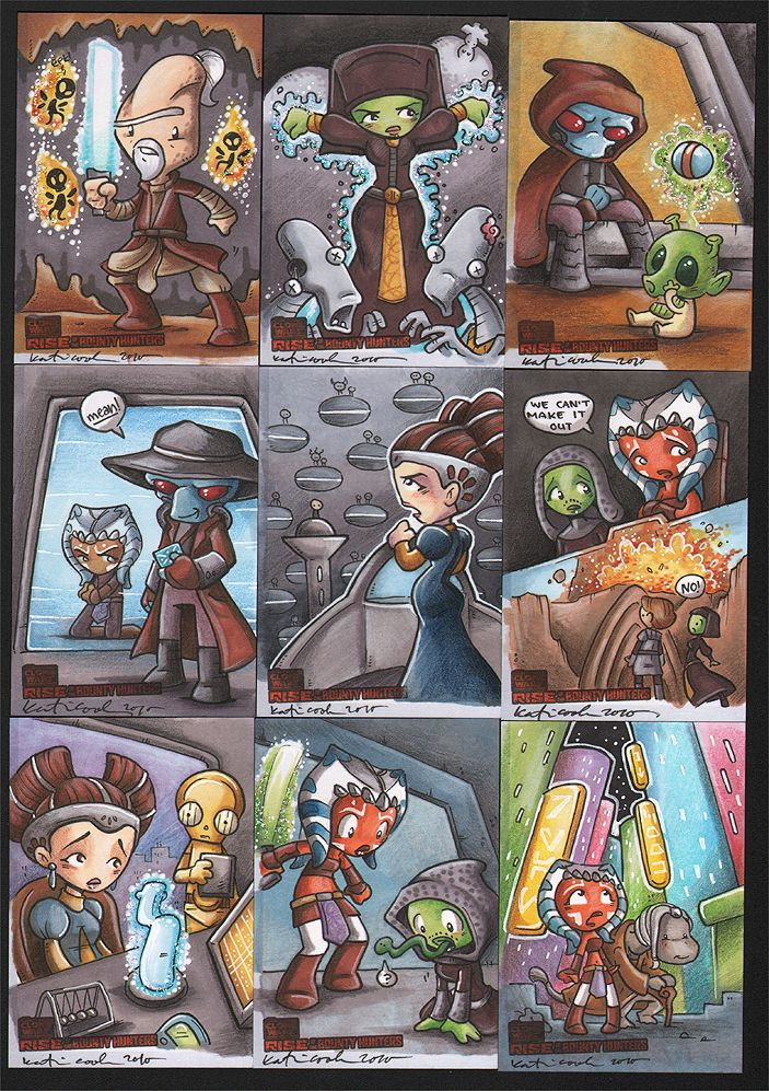 rise of the bounty hunter 2 by katiecandraw on DeviantArt