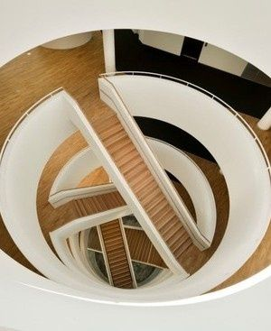A different twist on a staircase
