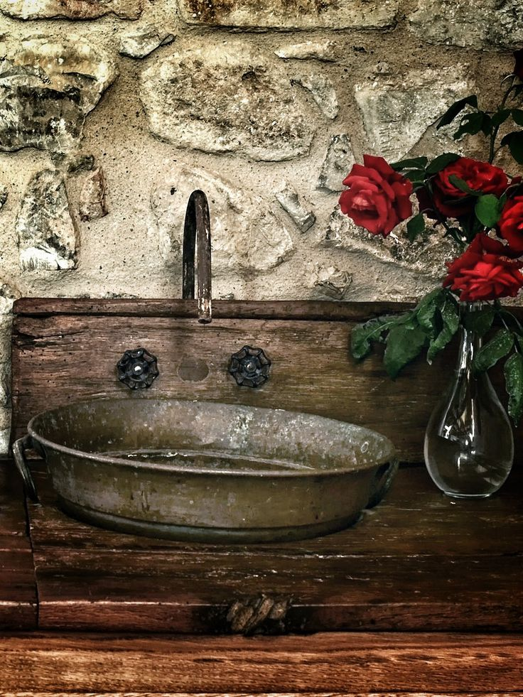 Rustic Bathroom Sinks : ... Rustic Relaxed, Rustic Sink, Rustic Bathrooms, Rustic Life, History