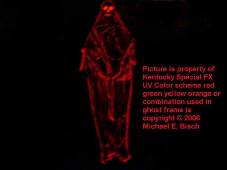 Halloween Hanging Decoration Skeleton Ghost Prop Black Red Hooded from www.kentuckyspecialfx.com in the Halloween ghost decoration section. All of our Halloween ghost decorations hang six feet tall and have a adjustable arm span of up to four feet wide. Collapses in just five seconds for easy, small storage space. Big Halloween prop that is black light reactive and uses minimal space for storage!