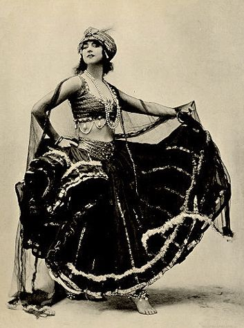 If you ever wondered where inspiration for today's Tribal style costuming comes from. :-)  Beautiful.