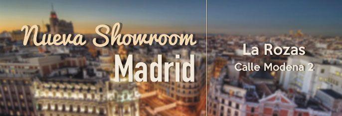 Tenemos tienda en Madrid.