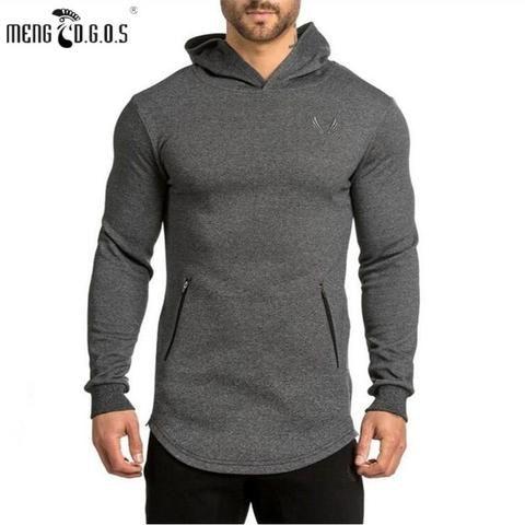 78e7d9999dd 2018 Men s gyms Hoodie Casual Sportswear Sweatshirt Warm Clothing  Sweatshirt Pullover Fall Brand Fitness Menswear