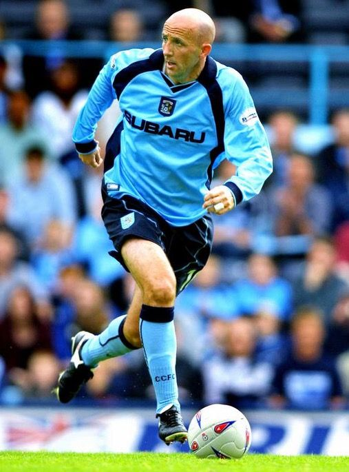 Gary McAllister of Coventry City in 2002.
