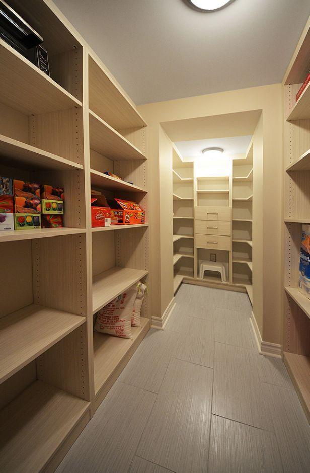 Basement storage room - storage heaven! This need a L O V E button!