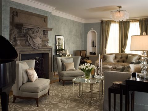 The Enchanted Home: Wall Colors, Home Colors, Fireplaces Design, Kendall Wilkinson, Classic Traditional, Family Rooms, Rooms Ideas, Traditional Living Rooms, Families Rooms Photo Liv