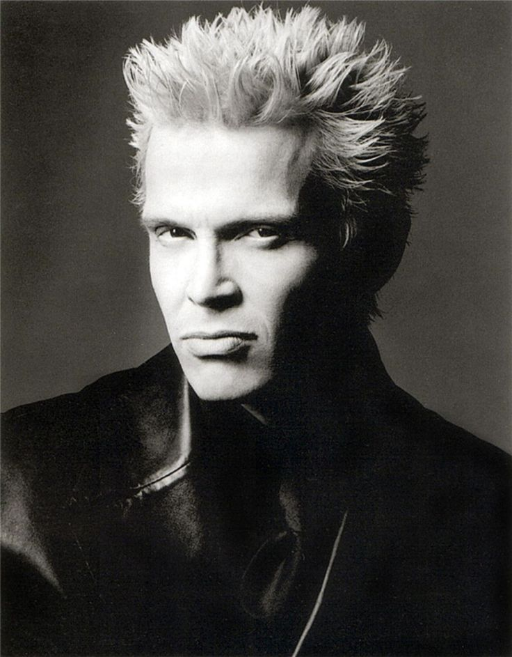 Billy Idol / Билли Айдол - портрет фотографа Грега Гормана / Greg Gorman