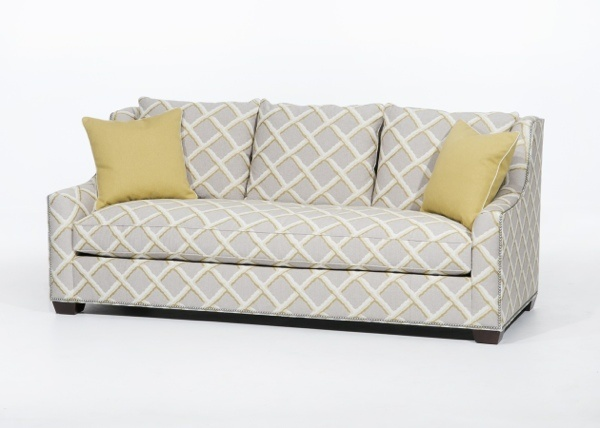 Superb 1904 89 Sofa In A Woven Grey U0026 Citrine Trellis Pattern. Top Selling Sofa At  Apr #HPMkt. | #HPMkt Best Selling Chair And Sofa Styles | Pinterest |  Trellis ...
