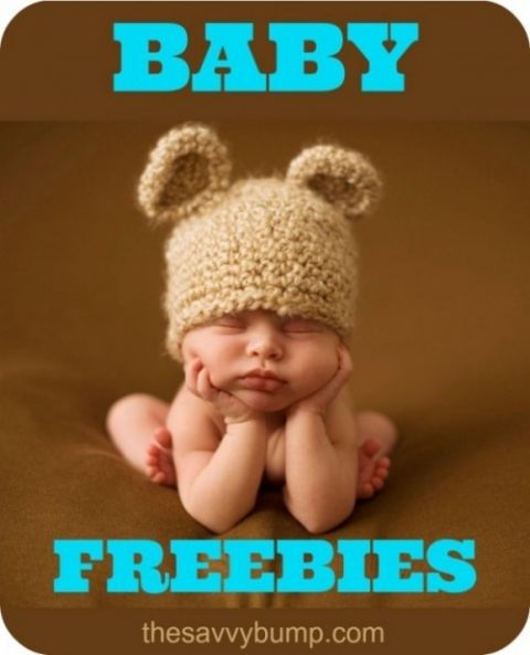 Who doesn't love baby freebies? Includes free samples, safety latches, formula, books, magazines, baby prints and more.
