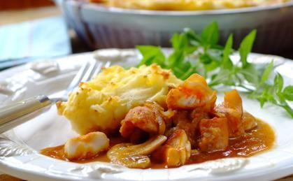 Lovely fish pie