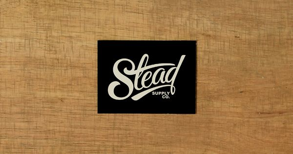 Stead Supply Co. on Behance