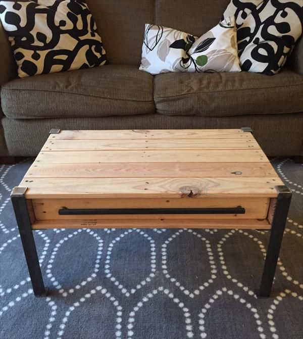 25 best ideas about coffee table with drawers on for Diy coffee table with drawers