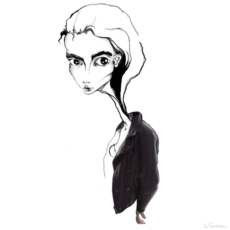 Fashion illustration by #Tio.Torosyan