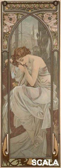 Alphonse Mucha - Affreschi vendita affreschi su tela,vendita affreschi per muro,falsi d'autore, effetto affresco
