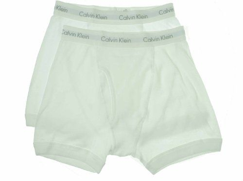 Calvin Klein Flexible Fit - Discounted Calvin Klein Men's 2-Pack Boxer Brief, White, Medium for sale!