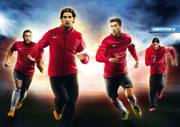 Die Nike Competition Line für Sportbekleidung und Trainingsanzüge