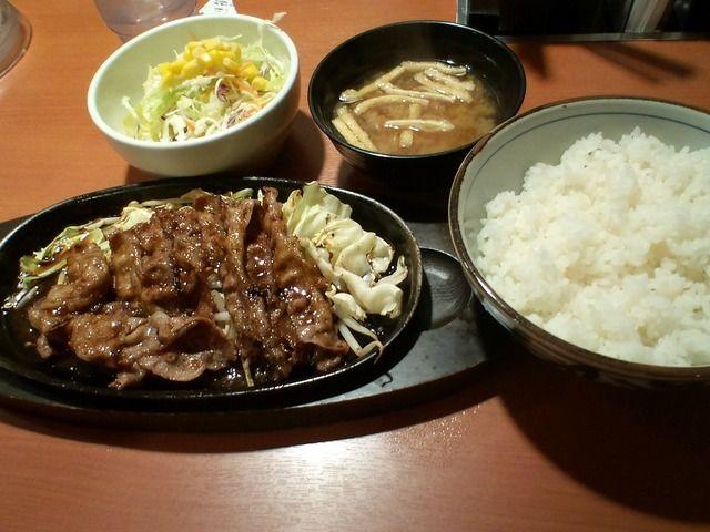 焼肉定食 yakiniku teisyoku