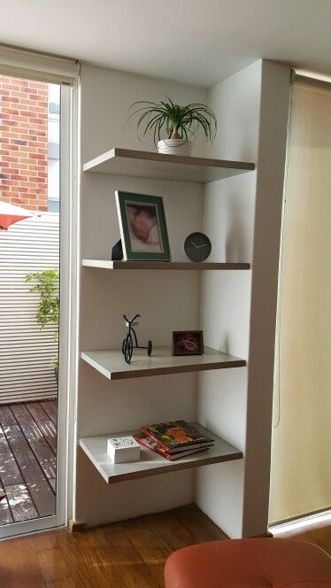 Painting Wall Shelves Ideas