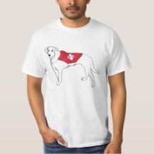 labrador rescue dog funny novelty art T-Shirt
