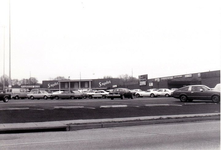 Dixie Manor Shopping Center, 6801 Dixie Highway,Louisville, Ky., 1980's