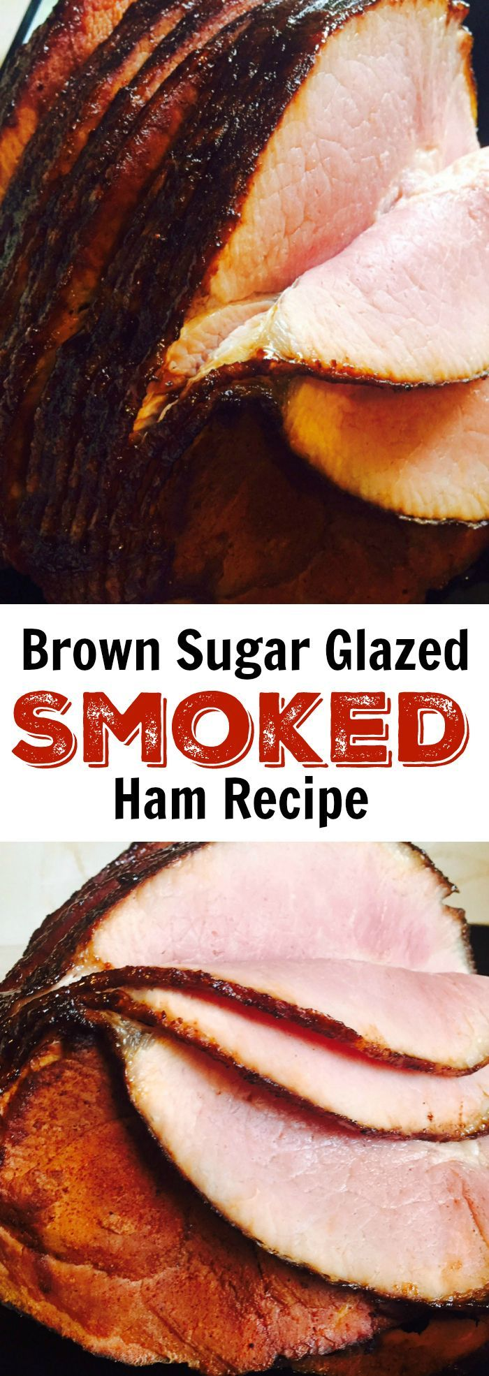 Brown Sugar Glazed Smoked Ham Recipe
