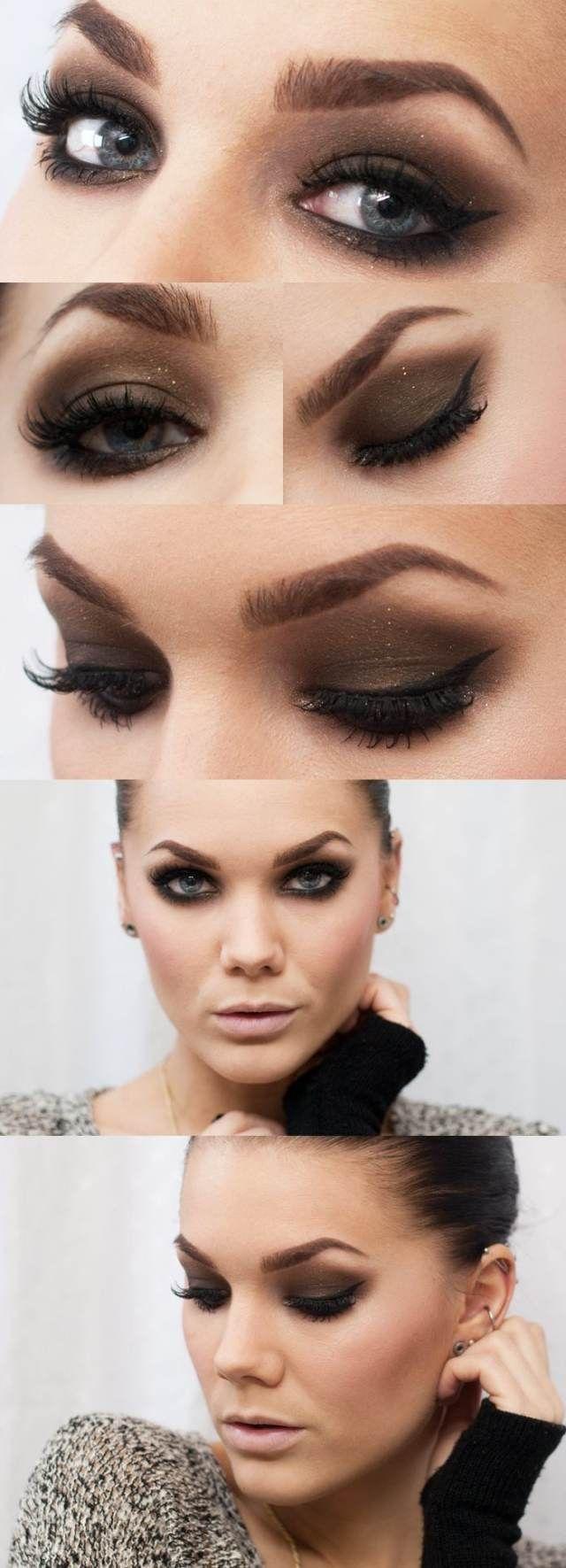 Tuto maquillage yeux – 25 belles photos et idées à imiter