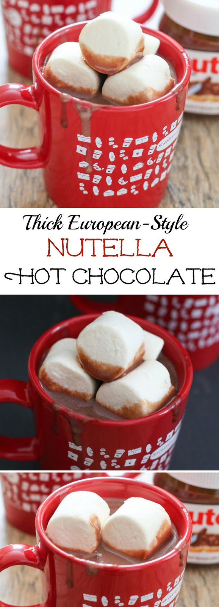 Thick European-Style Nutella Hot Chocolate