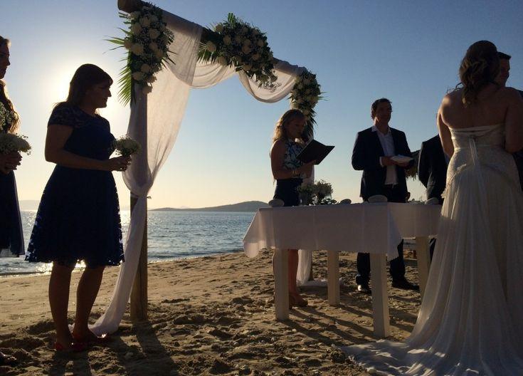 Australian Beach Wedding in Naxos