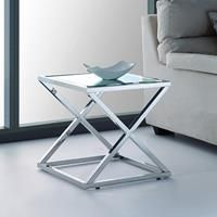 Eastham stainless side table - http://idealhomechoices.com/eastham-stainless-side-table/
