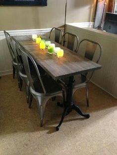 15 best narrow dining table images on pinterest | home, live and room