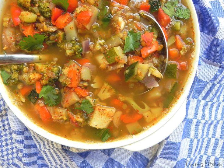 Spring vegetable kitchen sink soup recipe chilis vegan gluten kitchen sink soup workwithnaturefo