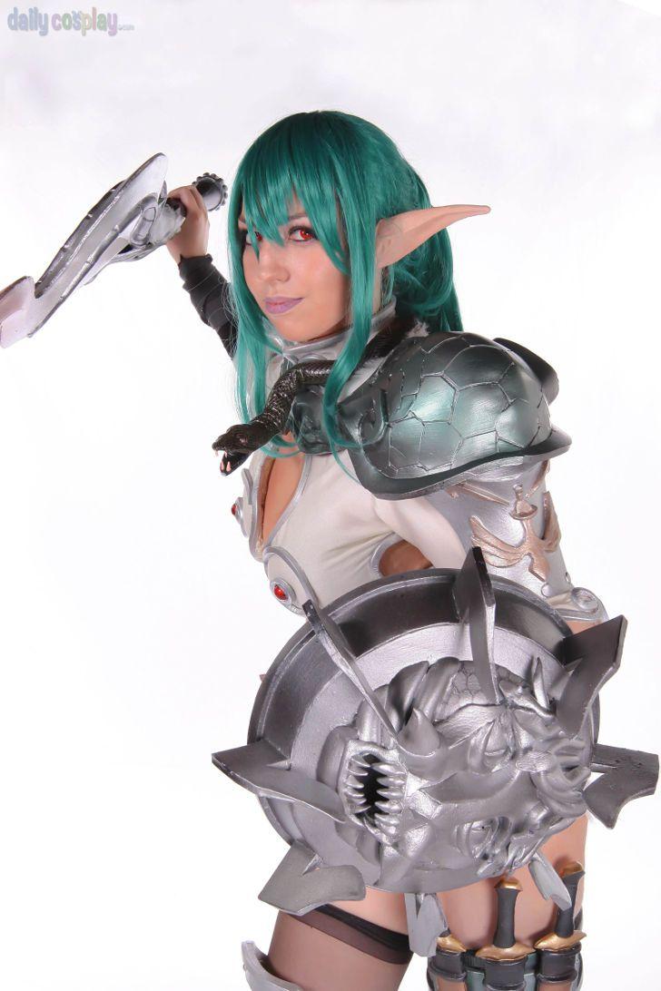 Echidna from Queen's Blade   Queen's Blade Cosplay ... Queens Blade Echidna Cosplay