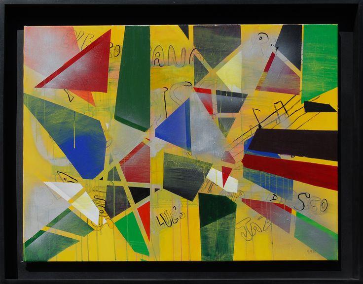 POST 90 x 120 cm Técnica mixta   2012