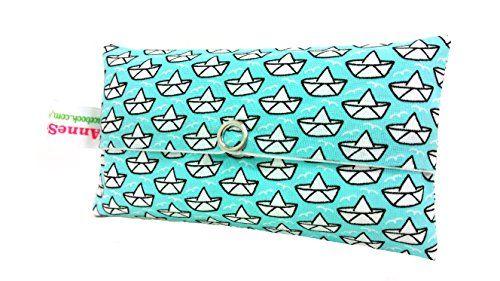 Taschentücher Tasche türkis Papierboot Loveboat Design Adventskalender Befüllung Wichtelgeschenk Mitbringsel Give away Mitarbeiter Weihnachten AnneSvea http://www.amazon.de/dp/B0184JUFQM/ref=cm_sw_r_pi_dp_ny.Zwb0754G04