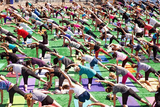 11 Ways To Enjoy L.A. In May #refinery29  http://www.refinery29.com/2014/04/67060/los-angeles-events-may-2014#slide7  Wanderlust Festival What's better than yoga by the beach? Free yoga by the beach. For one day only, the Wanderlust Festival brings together a remarkable group of locally based teachers for a day of free yoga classes for anyone who wants to join. Stop by for a class and show off your best Warrior II!When: Saturday, May 10, 12 p.m. to 6 p.m.       Where: Santa Monica Pier; ...