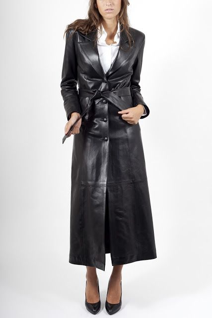 Leather Coat Daydreams: The ultimate fashion statement for a woman's wardrobe as it was offered by Milpau Cuirs