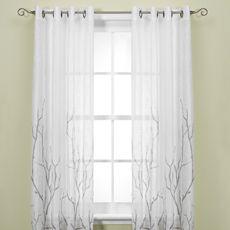 Alton Print Grommet Window Curtain Panels