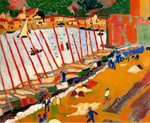 André Derain - Porto de Colliure (1905)