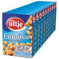 Ültje Erdnüsse gesalzen 50g Knabberartikel 10Schachteln