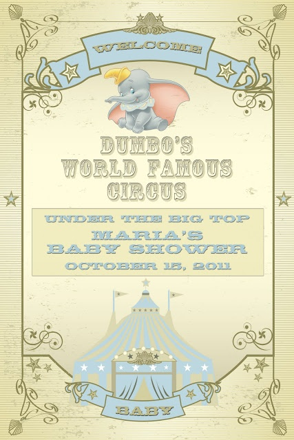 baby shower themes themed baby showers shower ideas dumbo baby shower