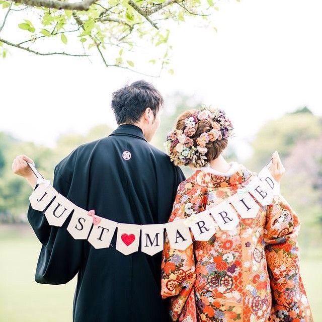 はんなり華やか♡和装の時に使いたい前撮り用小物アイデアまとめ* | marry[マリー]