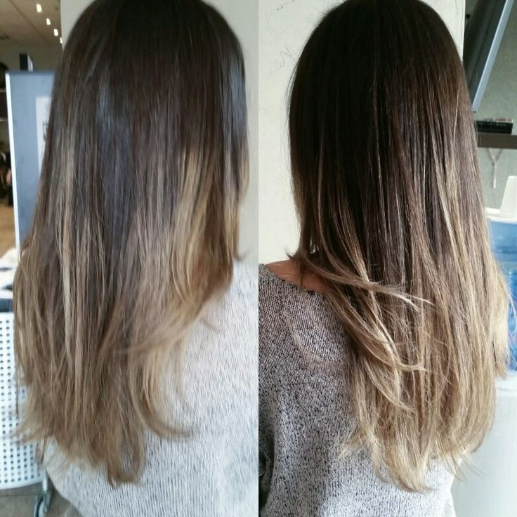 Natural balyage ombre refreshed for the season by Gail