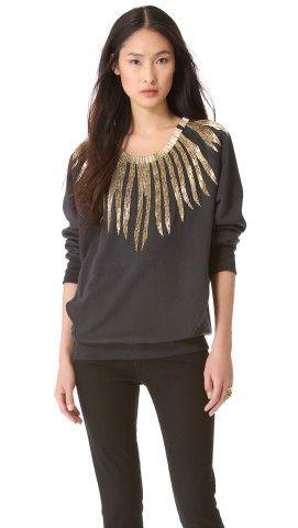 Pierre Balmain Embroidered Sweatshirt | SHOPBOP
