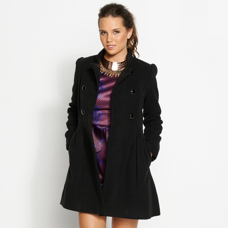 Cosy Girl Coat ($89.95) from Dotti.com.au