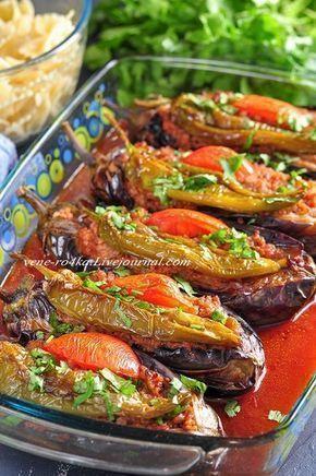 Карныярык — одно из самых популярных и известных блюд в Турции. Состав этого блюда очень простой, обычный и доступный, но несмотря на это, получается необыкновенно вкусным, красивым и даже праздничным. Фактически это фаршированные мясом баклажаны. Фаршируют их или рубленным мясом, или фаршем…